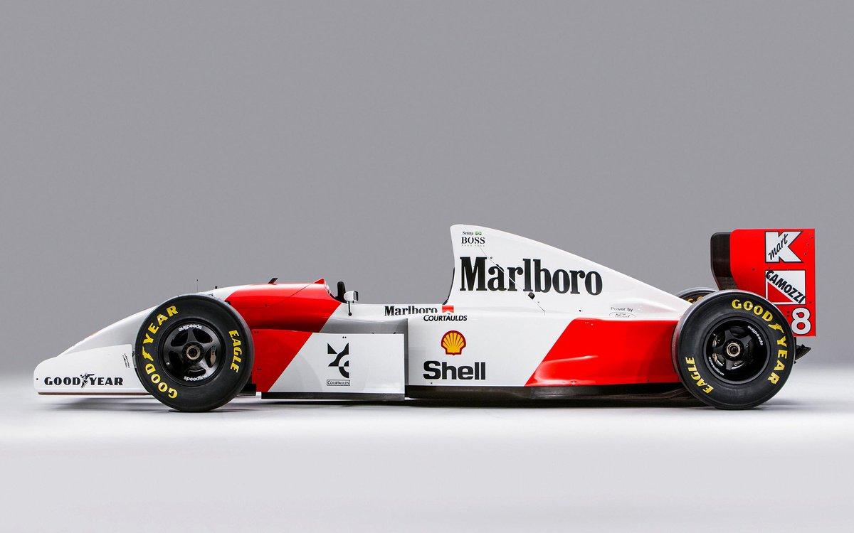 McLaren MP4/8.   #F1