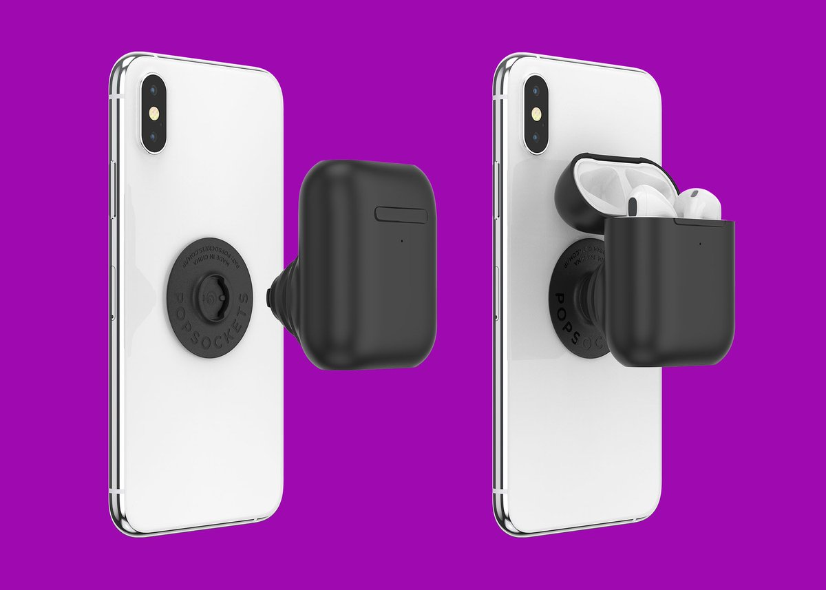 PopSockets made an AirPods grip, and it is godawful