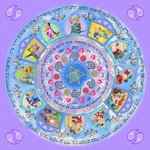 Image for the Tweet beginning: Kabbalistic Mandala Amulet for Love