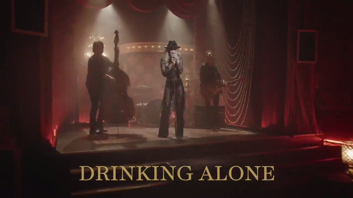 Check out my new music video for #DrinkingAlone here: https://smarturl.it/DrinkingAlone directed by the amazingly talented #RandeeStNicholas! 🎬