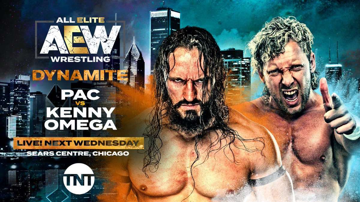 PAC Vs. Kenny Omega Announced For Next Week's Dynamite