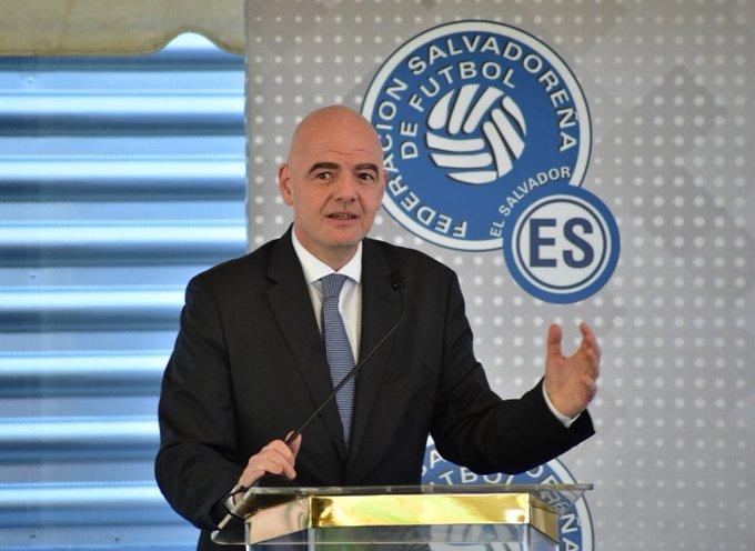 XVIII Congreso Ordinario de UNCAF y visita del presidente de FIFA Gianni Infantino a El Salvador. EJ1ICGKXkAAYC3J?format=jpg&name=small