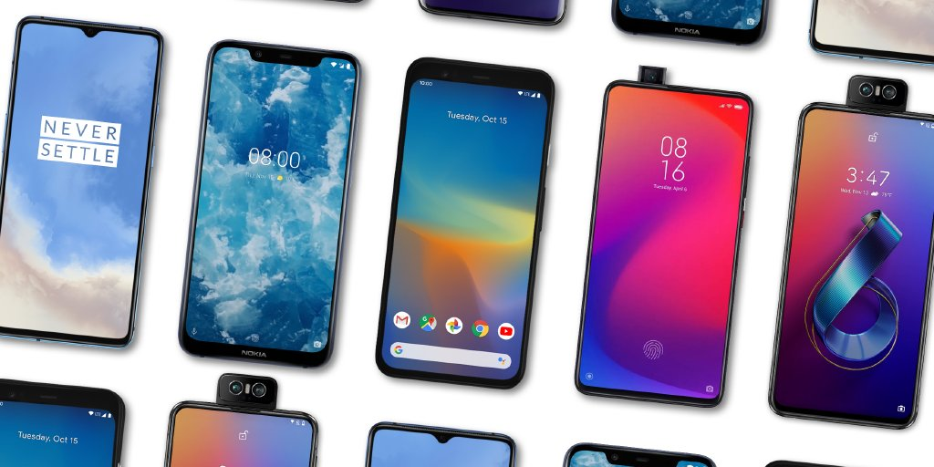 More 📱 are running on #Android10! Pixel, Xiaomi Redmi K20 Pro, OnePlus 7T and more, are officially bringing the latest features to the palm of your hand.