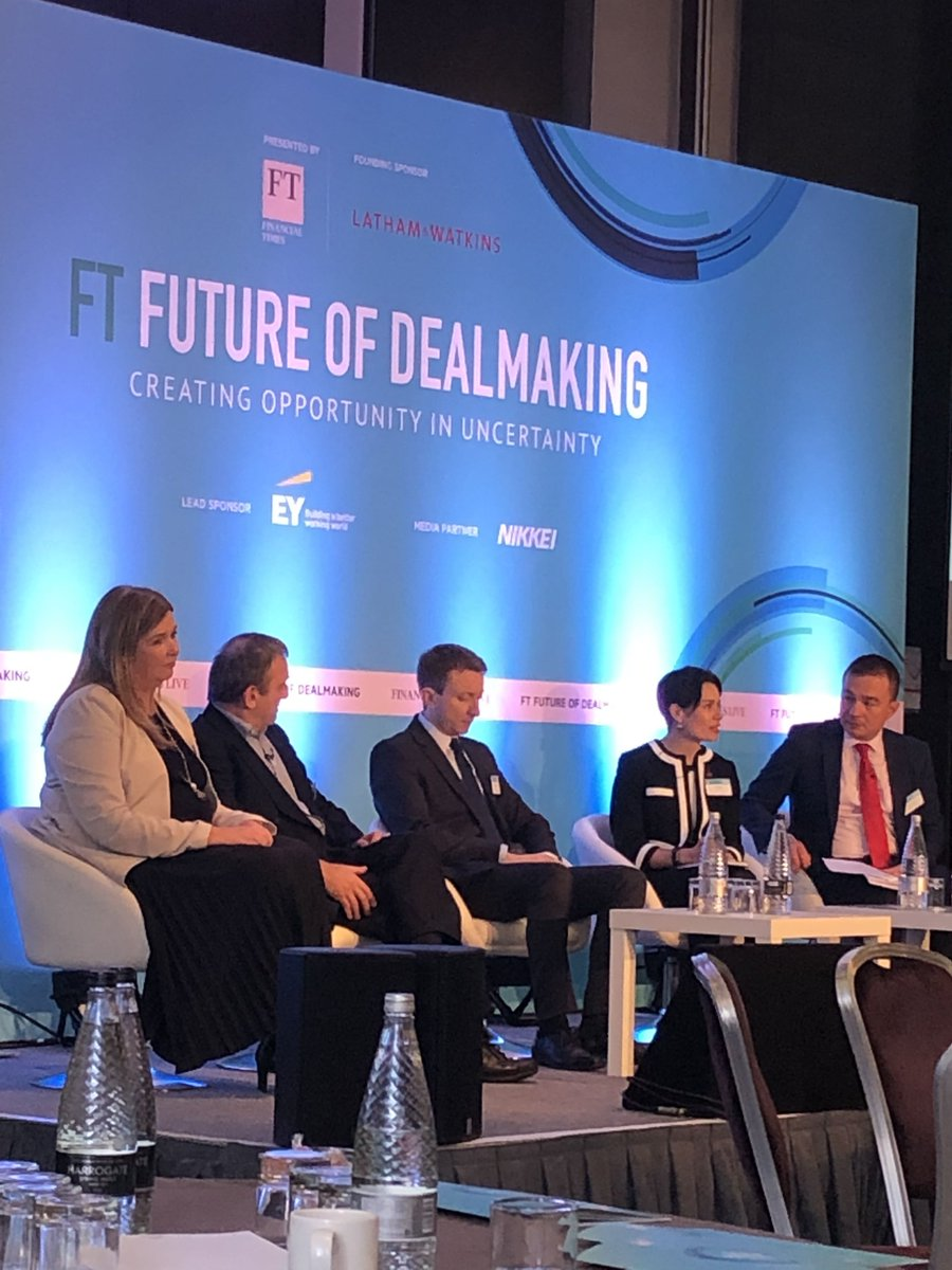 'Why do deals go wrong?' EY's Lisa Ashe talks about doing deals in uncertain times & how companies can mitigate unknown risks during transactions #FTDealmakers panel #EY #CapitalAgendaBlog https://go.ey.com/37iSicg