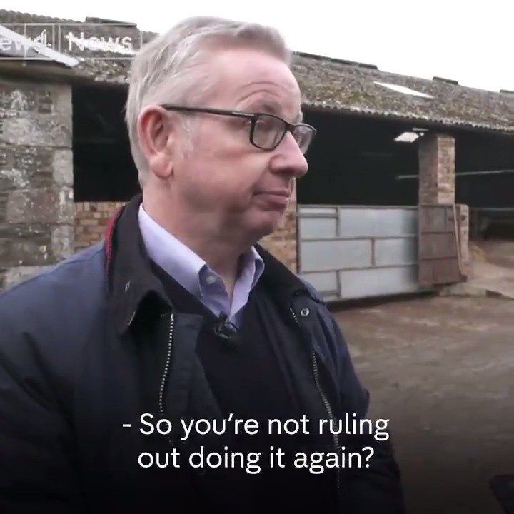 .@michaelgove launched a personal attack on this journalist for asking straight questions. He does not want you to watch this 👇🏿