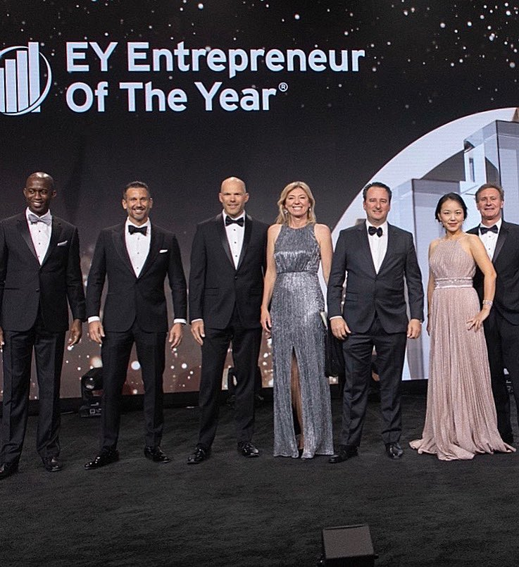 Congratulations to our unstoppable leader, Crystal Morris, on being recognized as a National Finalist for @EY_EOY Entrepreneur Of The Year® 2019! #EOYUS #EY #GuardItWithGator