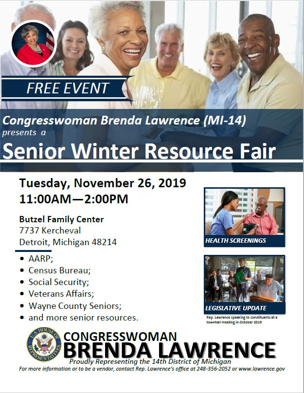 RT: Do you or someone you know need assistance? Join us at our Senior Winter Resource Fair NEXT TUESDAY! --> facebook.com/events/2353281…