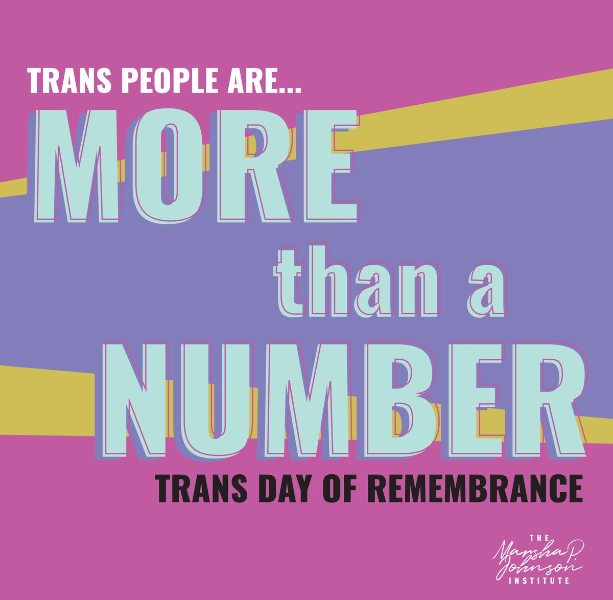 Today is #TDORBlack trans women are…more than a statisticmore than clickbaitmore than a sad storymore than a retweet #MoreThanANumber.Black trans women are…magic lightlove LIFE.Let's stop sensationalizing Black trans murders. We are more than worthy of LIFE.