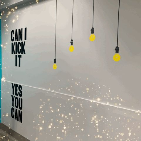 Can you kick it? Why yes you can. coLAB is confirmed open and fully functioning with internet and electricity for Wednesday during the #PSPS #pge #powershutoff. Come on down, take a tour, get a day pass and stay connected.