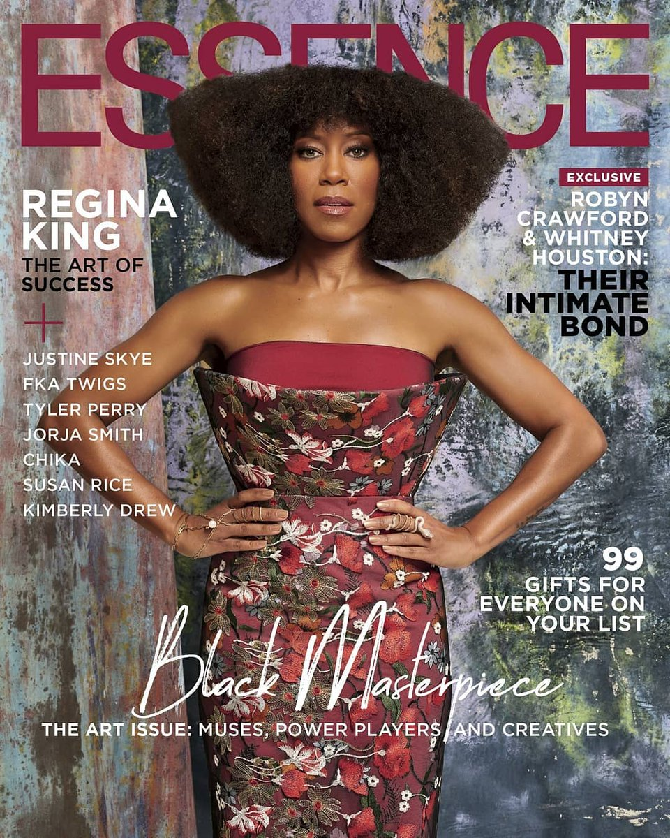 Thank you @essence for including me in your #BlackMasterpiece issue. Photographed by my cousin @JDTheCombo & interview with my Sisterfriend @reginarobertson Glam Slam @waymanandmicah @makeupbylatrice @LarryJarahSims #WatchmenHBO