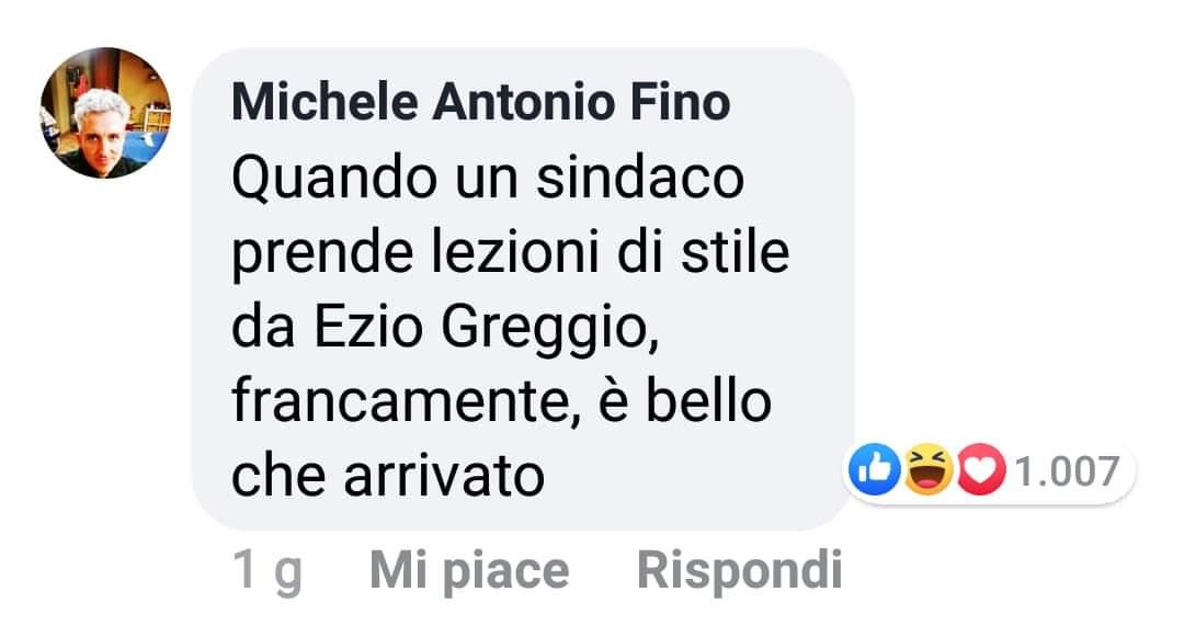 #EzioGreggio