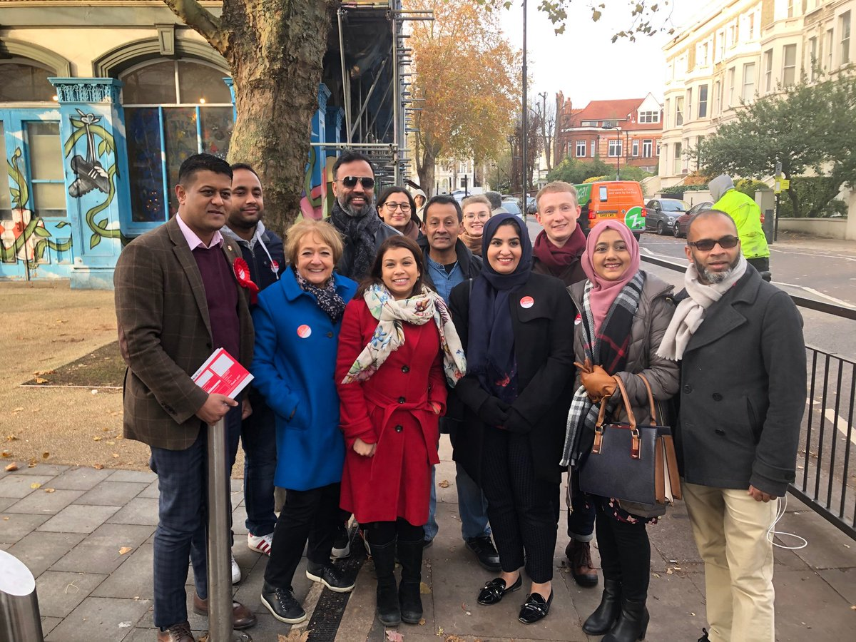 Great to be out campaigning with @barkinglabour to help re-elect the brilliant @TulipSiddiq https://t.co/Wu1JYDUzDX