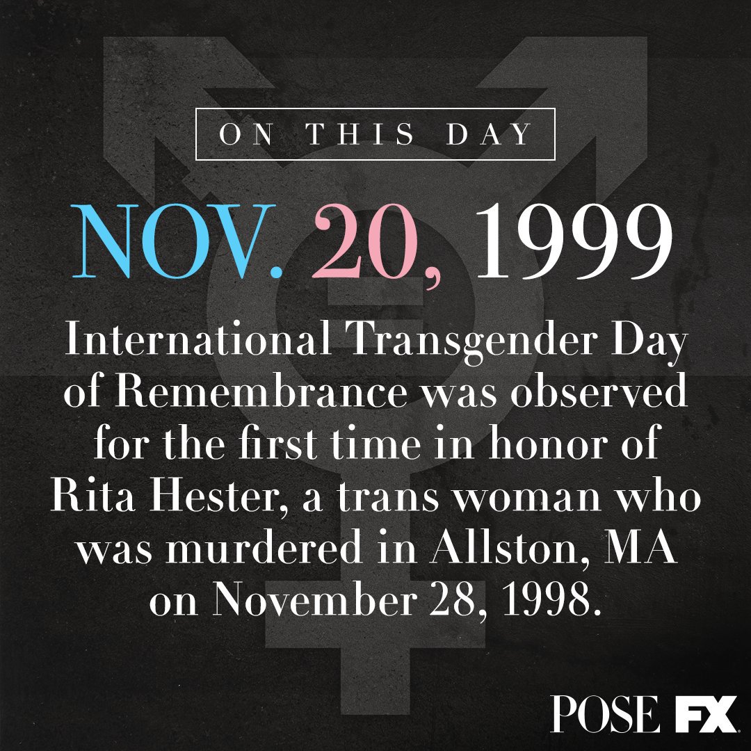 On the 20th anniversary of #TransDayofRemembrance, we come together to remember those we have lost.#TDOR #TDoR2019