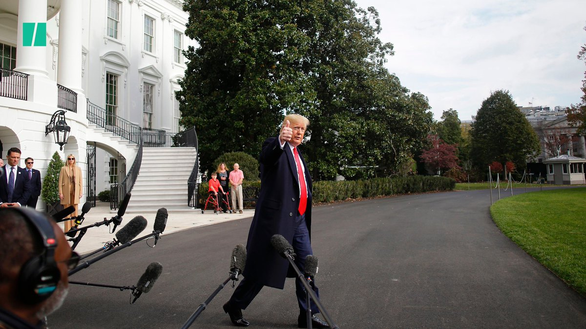 President Donald Trump pushed for the impeachment inquiry to come to an end following Gordon Sondland's testimony.
