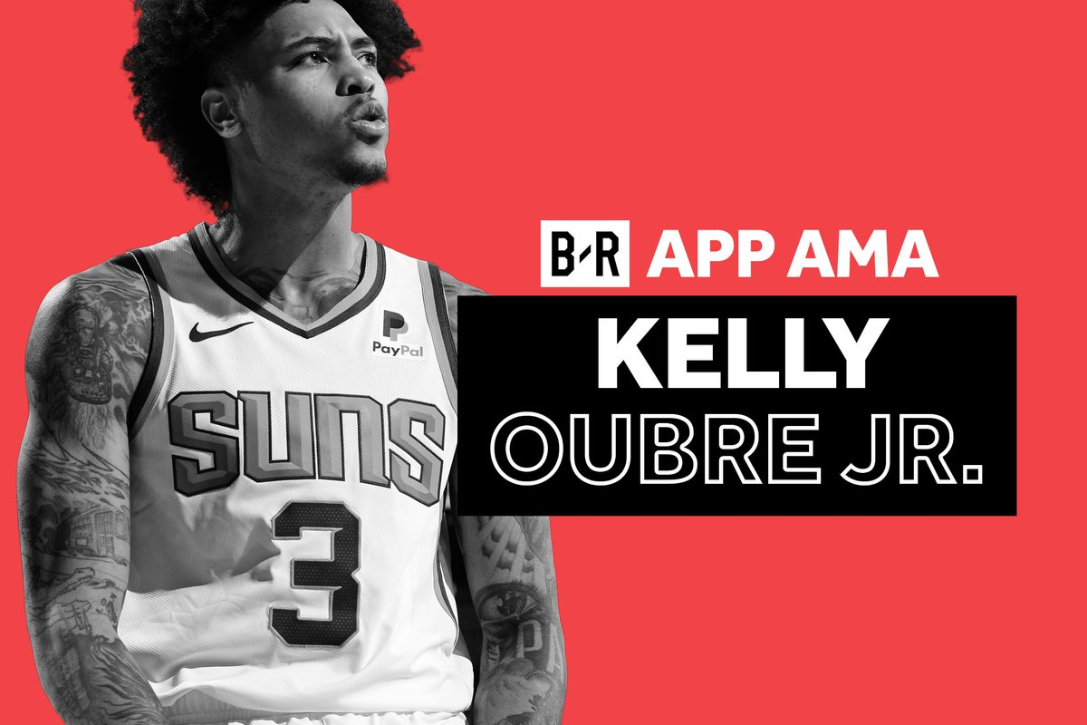Kelly Oubre Jr. AMA TODAY 🗓   Suns star @KELLYOUBREJR will answer all your questions live in app tonight at 7:05pm ET  http://br.app.link/Kelly-Oubre-AMA