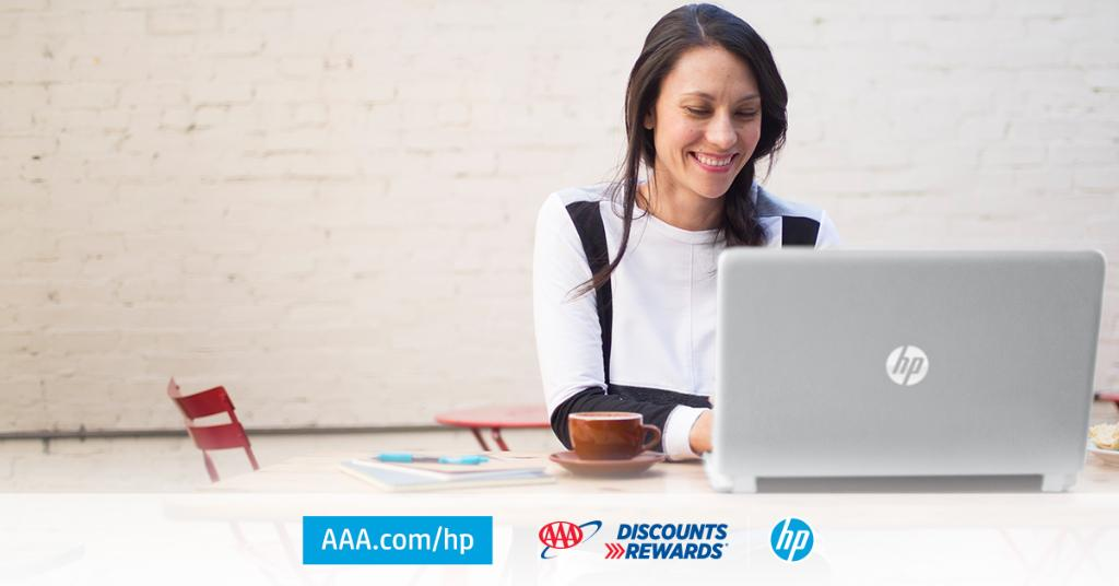 Use your #AAADiscounts to save up to 55% off @HP products during the Pre-Black Friday and #BlackFriday sales events happening now through November 30, 2019.