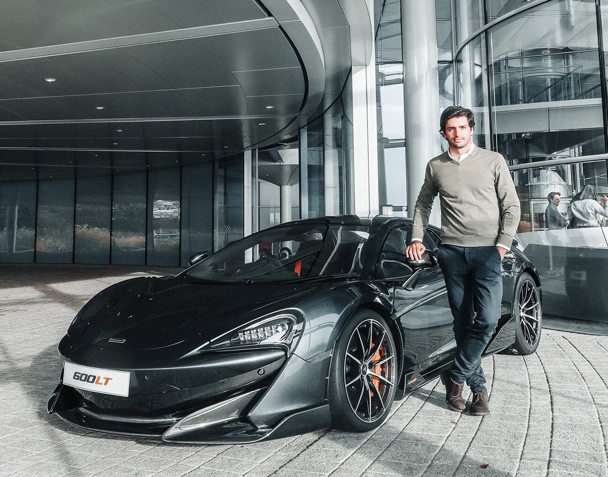 I was given the chance to spec my new 600LT. Who is up for a ride? Thanks  @McLarenAuto  @McLarenF1   #carlossainz