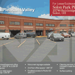 Image for the Tweet beginning: Solon Park Place available for