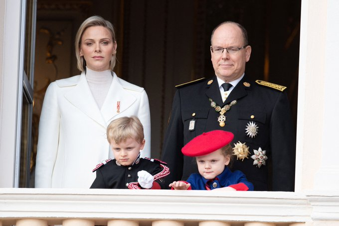 Княжеская семья Монако приняла активное участие в праздновании Национального дня Княжества