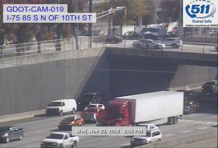Random traffic camera #Atlanta  #TrafficCam  #AtlantaTrafficHourly  #ATLtraffic  #RaspberryPi