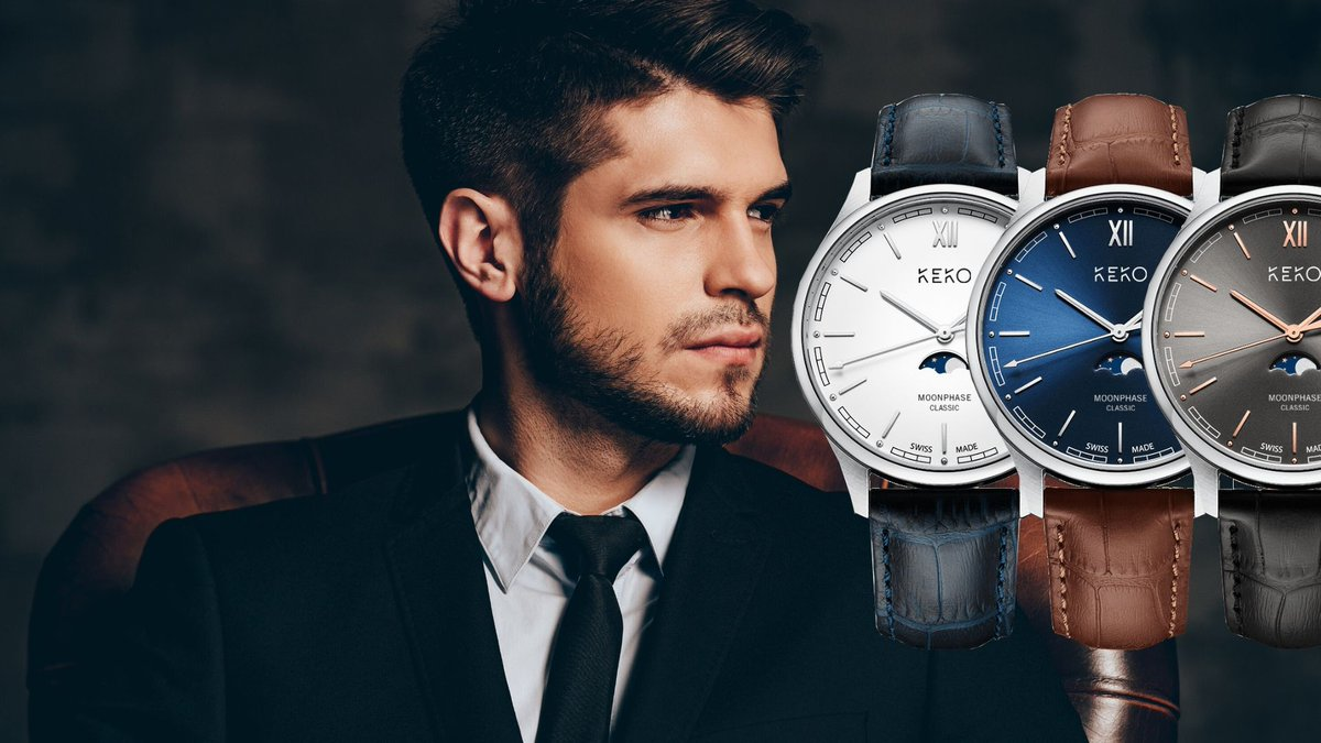 #Competition  Win a Keen and Kool KeKo watch with a value of $282, a Moonphase Classic timepiece with SWISS movement. Enter & #RT  for a chance to #win :  https://kekowatches.com/en/home/   #watches  #swissmade  #montres  #newbrand  #Retweet  #rt  #microbrandwatches