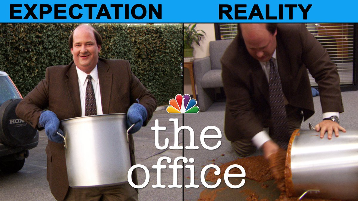 No matter how hard you try, Thanksgiving never really seems to go as planned. #TheOffice