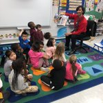 Our PreK had a Guest Reader to help celebrate American Education Week. TAACC President Russell Leone was a welcome addition to the class. #AACPSAwesome #allmeansall