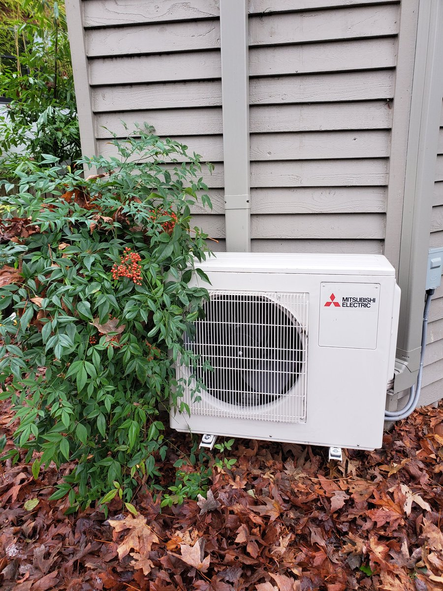 Did you know ductless heat pumps ductless heat pumps cost less to operate by maximizing the amount of heat generated from the energy consumed. #ductless #minisplits #heatpumps #progressive #energyefficient #sustainable #sustainability #seattle #heating #cooling #hvac #energy
