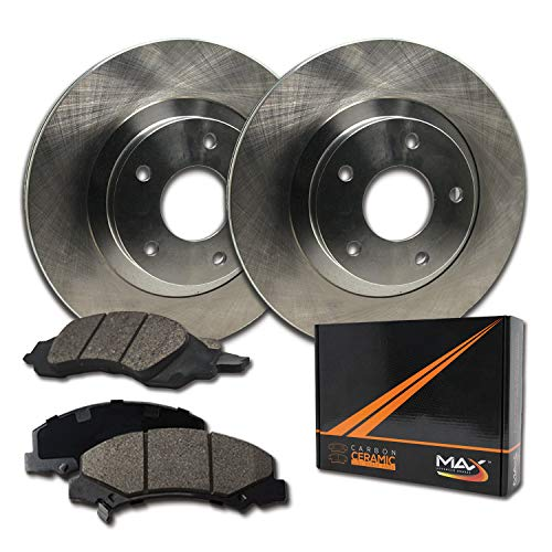 Front Brake Rotors Ceramic Pads For Honda Accord Civic CR-V Element