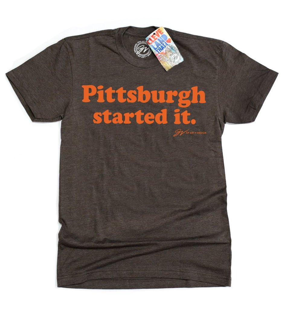 Browns fans show their hypocrisy over brawl with T-shirt