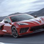Image for the Tweet beginning: Time for an electric Corvette