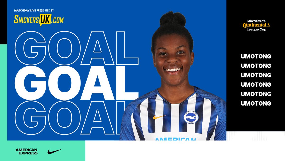 69: GOOOAAAALLLL 💪 🙌 Umotong adds a fourth with a composed finish! 📲 Matchday Live is presented by @SnickersUKcom. 🐝 #Bees 0-4 #BHAFC 🔵