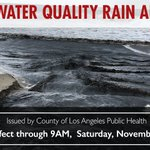 Image for the Tweet beginning: {OCEAN WATER QUALITY RAIN ADVISORY}