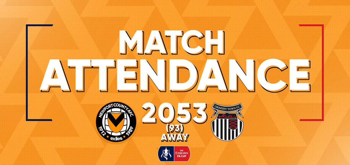 2️⃣,0️⃣5️⃣3️⃣ (9️⃣3️⃣ away) Thank you to all of the members of the #AmberArmy who braved the freezing weather to support the #Exiles on Parade tonight! 🙌 Magnificent effort 👏 #NCAFC 1 - 0 #GTFC #OurJourneyContinues