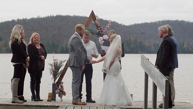 Exchanging vows on the dock.  Watch the full elopement film: https://youtu.be/V46Pyyop5PA  #elopementwedding #montrealwedding #mariagemontreal #cinematicwedding #weddingwirecanada #tascam #elopementlove #weddingvideographer #weddingfilm #elopement #weddingbe… https://ift.tt/37syvY2pic.twitter.com/12KXmhj6Xh
