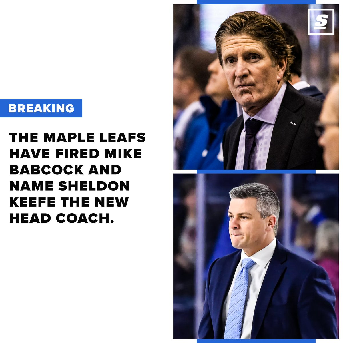 Babcock out. Keefe in. https://t.co/4D6XJQumrG https://t.co/QljdFy3Oq9