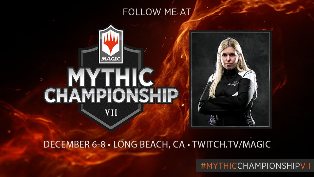 I am thrilled to announce that I will be representing @TeamGenji at #MythicChampionshipVII ! Let's light up the competition the same way we did during the Invitational! Thanks to @MagicEsports @wizards_magic  for the opportunity! #GOGENJI