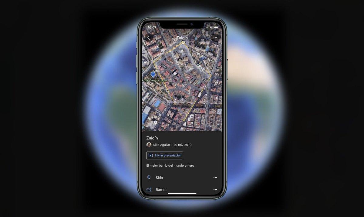 Los recorridos personalizados llegan a Google Earth con sus nuevas herramientas de creación