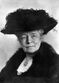 Born on this day in 1858, author, teacher, and the first female writer to win the Nobel Prize in Literature, which she was awarded in 1909, Selma Lagerlöf.