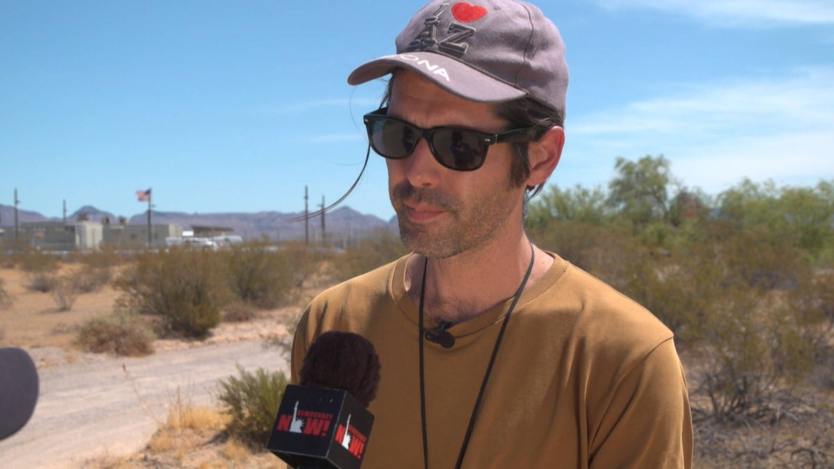 BREAKING: A Tucson jury has found Scott Warren of @NoMoreDeaths not guilty of all charges for providing food, water and aid to undocumented migrants in the Sonoran Desert.