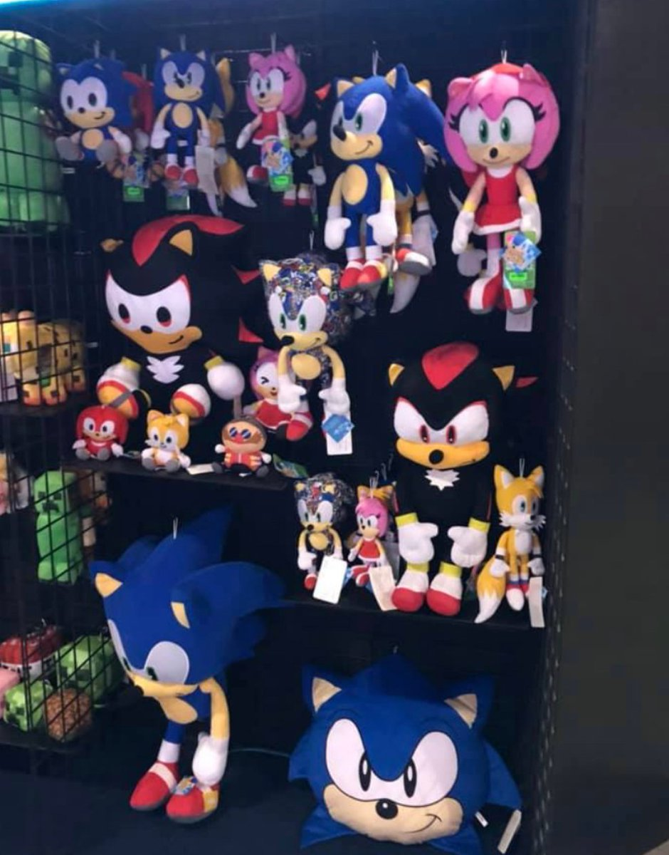 Patmac On Twitter At Iaapa This Year Toy Factory Showed Off Their Sonic Plush Line Amy Who Was First Shown Off In 2017 Is Finally Being Released There S Also A Special Variant