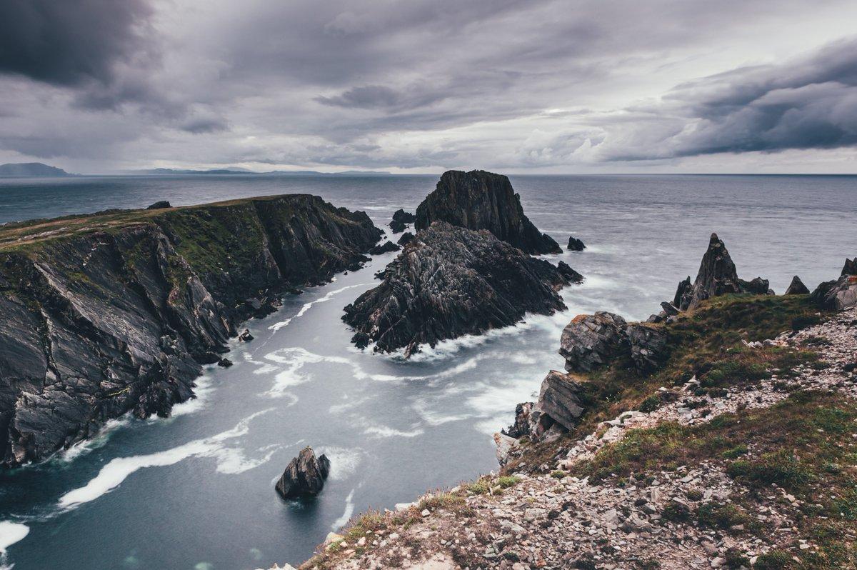 Malin Head #malinhead #donegal #ireland #irish #landscape #seascape #nikon