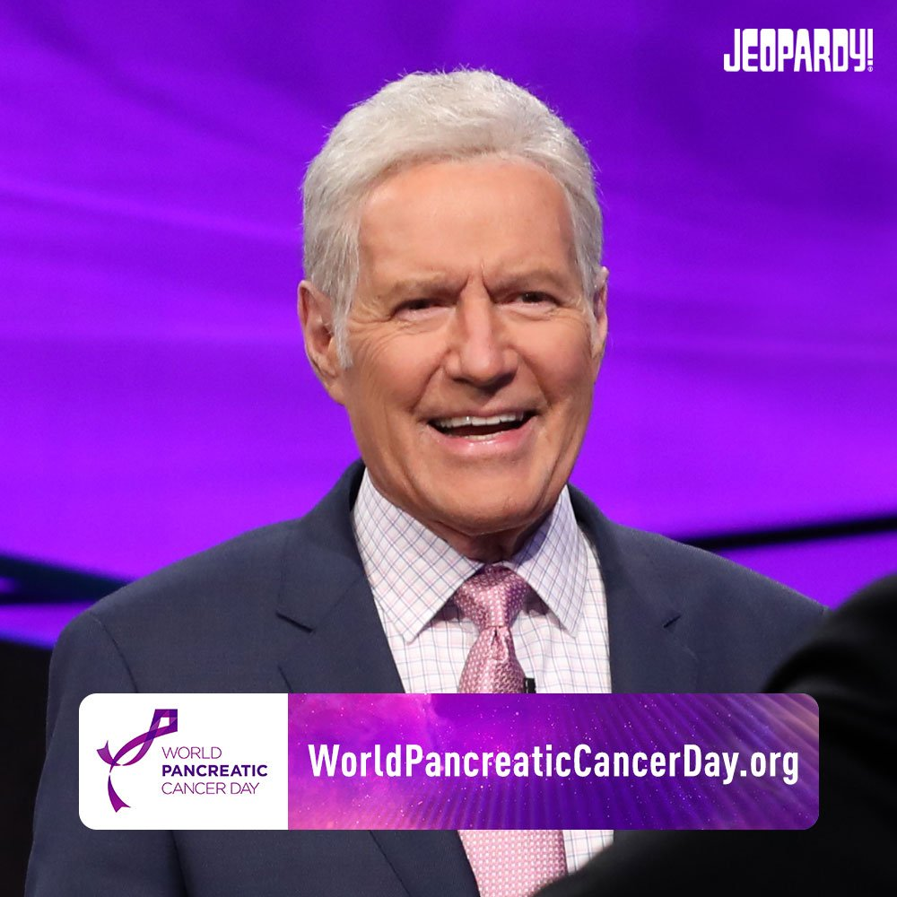 Today is @worldpancreatic Cancer Day. We stand alongside Alex and @worldpcc to raise awareness for the risks and symptoms of this disease. 💜   #WPCD #DemandBetter