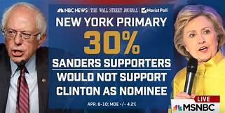 """how can you go from Hillary to Sanders? He contributed to her """"loss"""". #NeverSanders"""