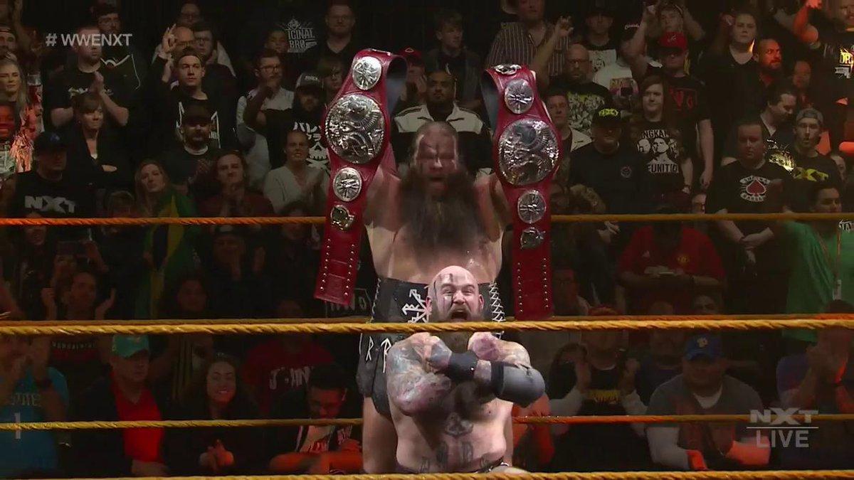 #TheRaid continues. @Ivar_WWE @Erik_WWE #WWENXT