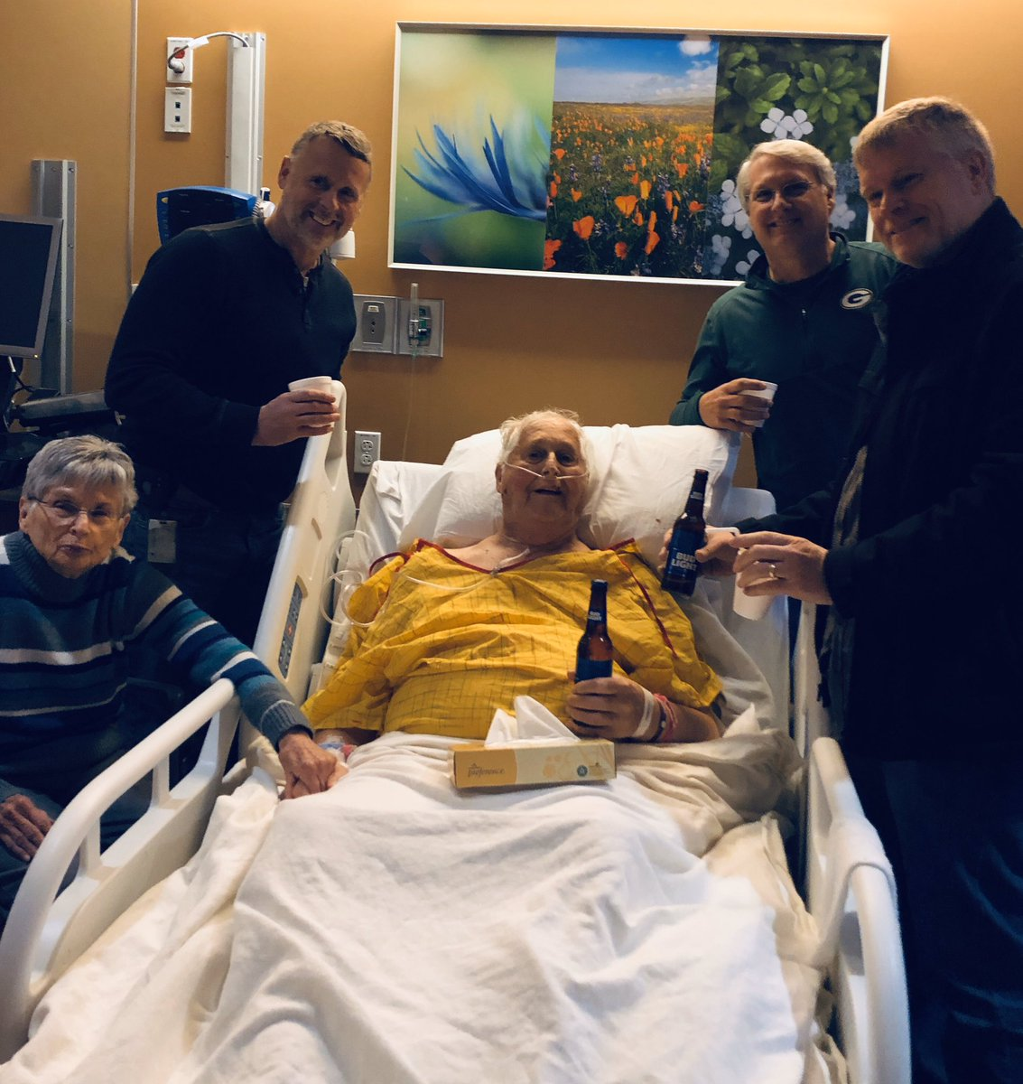 A dying man wanted one last beer with his sons. The moment resonated with thousands
