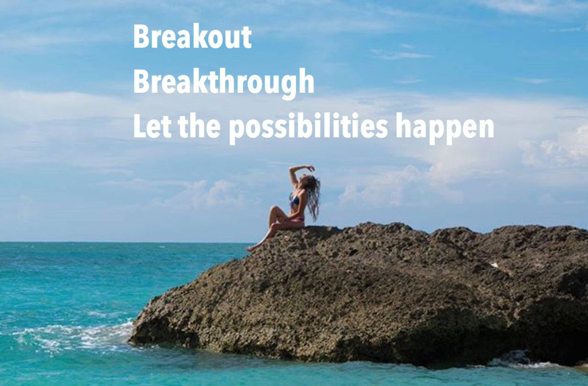 Breakout  #Breakthrough  Let the  #possibilities happen  ==>  http://Bit.ly/EnergytoburnSixDayExperience