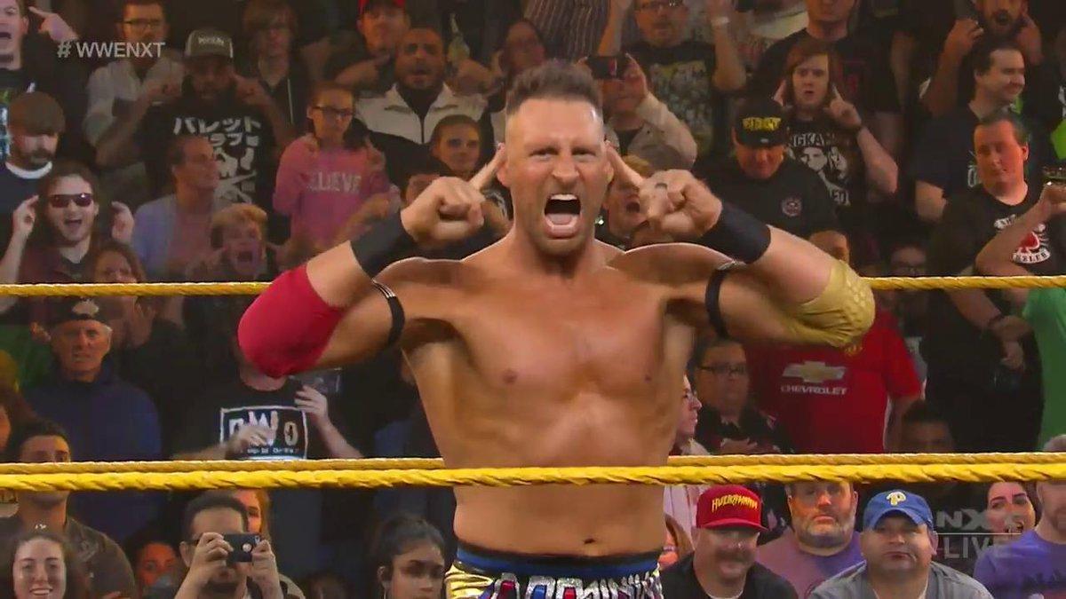 Who ya got?@DijakovicWWE vs. @AdamColePro in a #LadderMatch for the #WarGames Advantage, RIGHT NOW on #WWENXT!