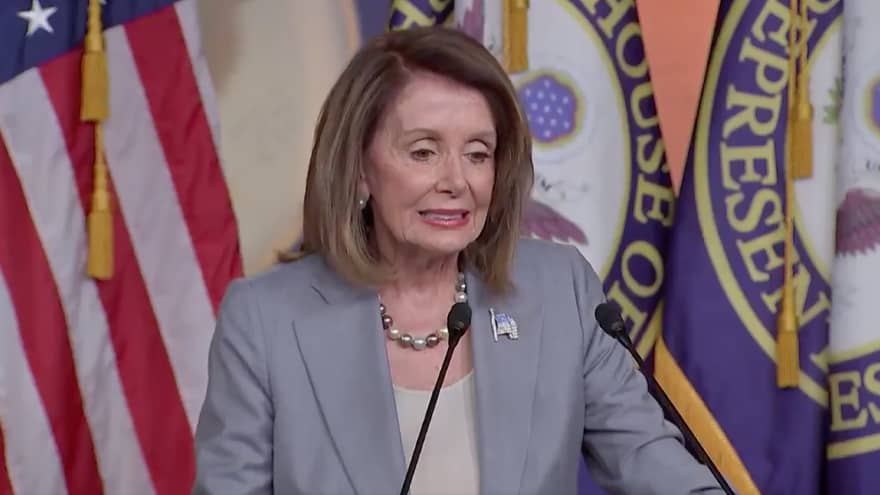 "TRUMP: ""Nancy Pelosi will go down as the least productive Speaker of the House in history. She is dominated by AOC Plus 3 and the Radical Left..."""