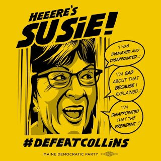 Winning the presidency is crucial. But if we really want to fix America, we have to #FlipTheSenate!   So, spread the word! Help the @MaineDems #DefeatCollins by going to their new site: . #DemDebate #DemCast #DemCastME